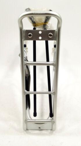 Axiom Bicycle Rear Bike Rack Streamliner Disc DLX Silver