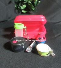 Tupperware NEW Mini Kit Quickshake Shape O Ball Keychains ,Ice Cream Magnet #4