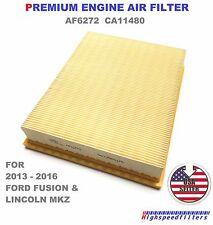 2013-2015 Ford Fusion Lincoln MKZ Engine Air Filter WA10048 FA1912 USA SHIPPER