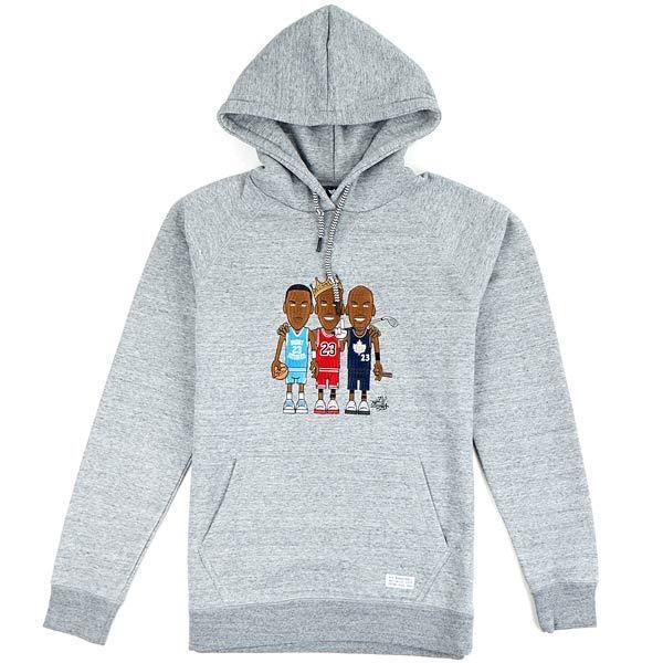 K1X Greatest Hoody Grau Basketball Play Hard NEUWARE portofrei