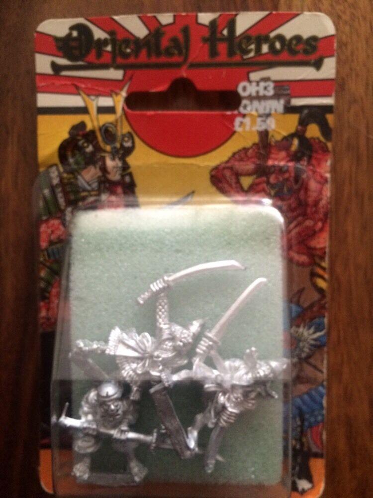 Oriental Heroes Ronin New In Blister Rare Games Workshop Metal OOP