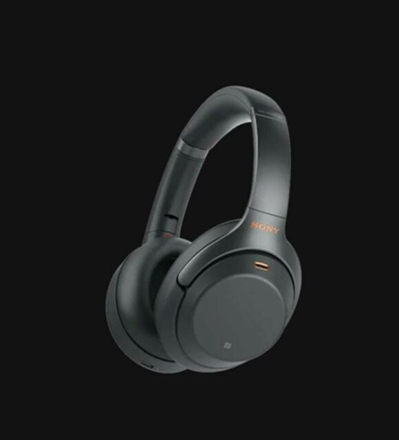 Sony WH-1000XM3 Over the Ear Wireless Headphones - Black (Aus)
