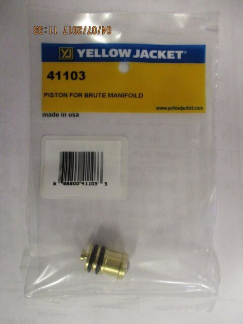 For  THE BRUTE-II Manifolds 41103 RITCHIE Valve Piston Yellow Jacket