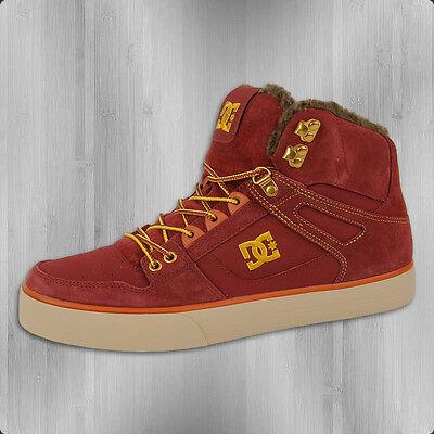 DC Shoes Winter Männer Schuh Spartan High WC WNT rot Winterschuhe Herren Sneaker