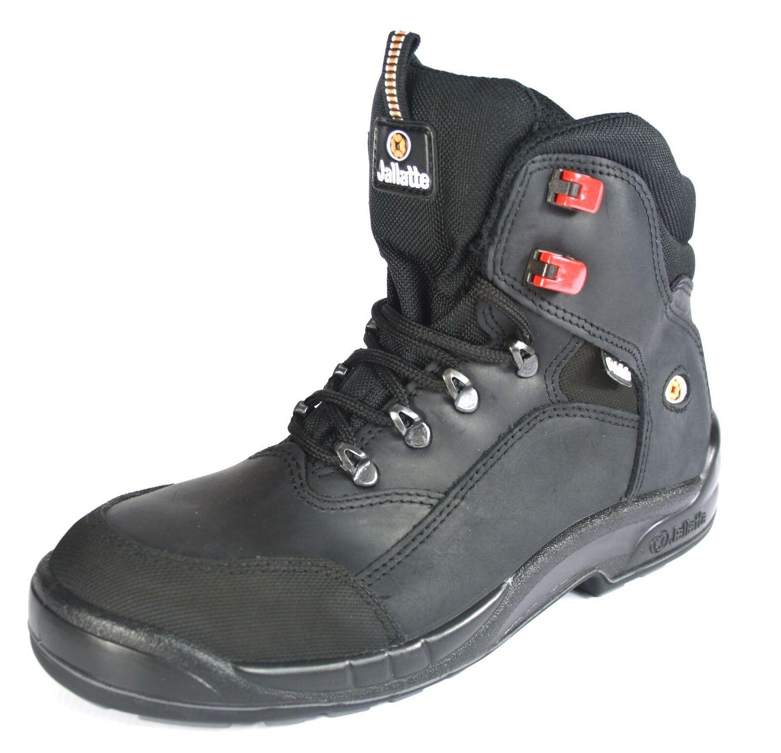 JALLATTE jalamset - 00j0656 nero da con lacci Safety cuoio da nero lavoro puntale 5934f0