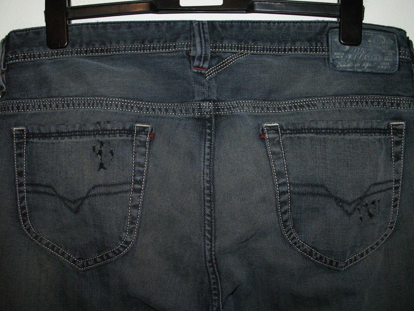 Diesel thanaz slim-skinny fit jeans wash 0660Q W34 L32 (a3374)