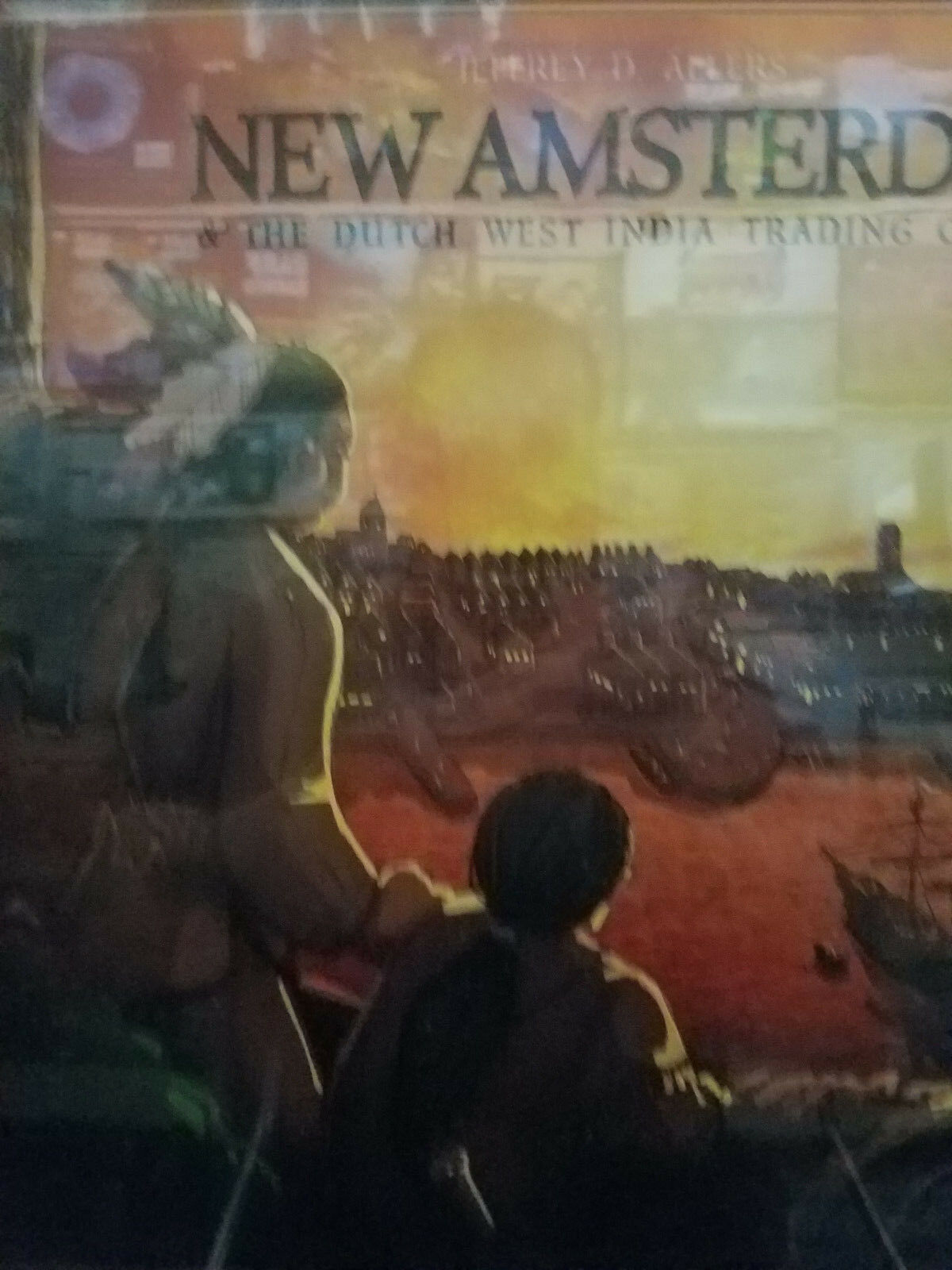 Nuovo Amsterdam The Dutch West Indies Trading Company Pandasaurus Board Game Nuovo