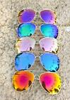 Big Mirror Lens Large Gold Metal Frame Aviator Hot Blogger Sunglasses 3683 Diva