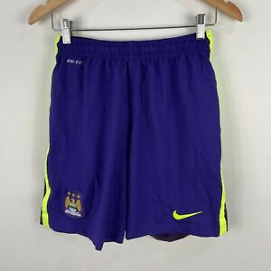 Nike-Manchester-City-Football-Soccer-Shorts-Mens-Medium-Slim-Asian-Size-Purple
