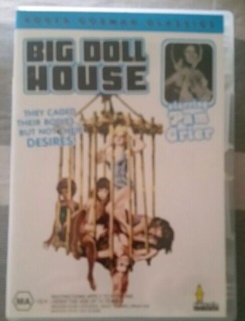 BIG DOLL HOUSE 1971 PAM GRIER GENUINE REGION 4 DVD AS NEW RARE OOP LESBIAN THEME