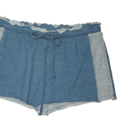 salotto Pantaloncini taglia XS pietra blu e in coulisse lino antracite con 6qwrOdq