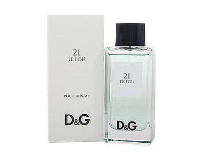 D&G DOLCE GABANNA Fragrance Anthology LE FOU NO. 21 Eau de toilette 100ml 3.3oz | eBay