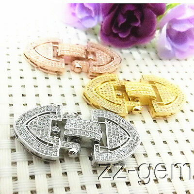 10Pcs Magnetic Clasps Strong Silver Gold Plated For Necklace Jewelry Making  JJU