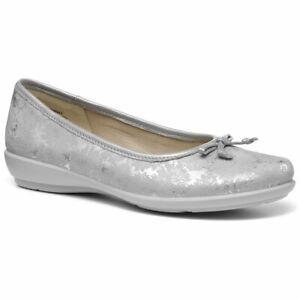 Hotter-Women-039-s-Emmy-Ballerina-Suede-Slip-on-Adult-Flats-Casual-Ballet