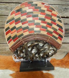 Tischlampe Aus Naturmaterialien Afrika Asia Steh Lampe Wohnzimmer