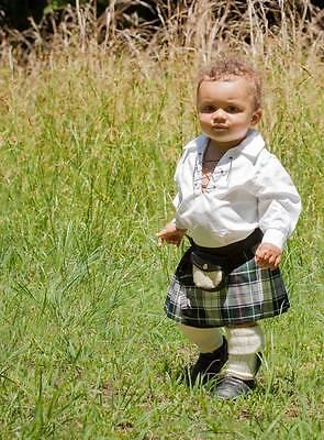Holyrood Tartan Adjustable Baby Tartan Kilt Age 0-24 Months