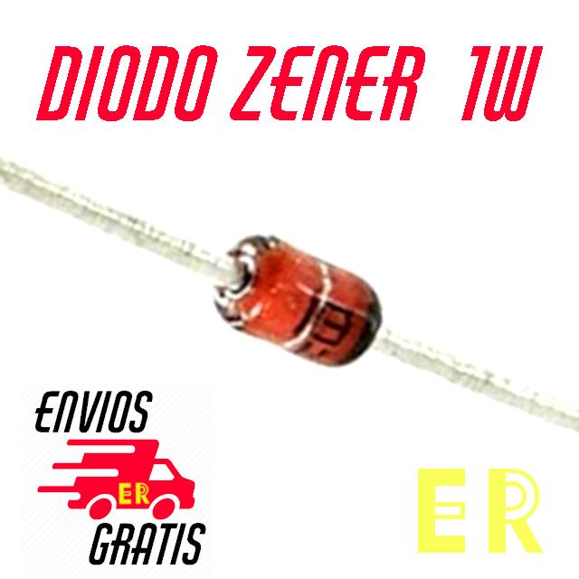 9v1 1w diodo zener 9.1v dip x 10 unidades x10
