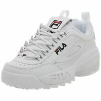 Fila Disruptor II White/Navy/Red Men's Athletic/Running Shoes FW01655-111