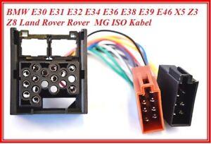 ISO-DIN-Cable-adaptateur-faisceau-convient-pour-ROVER-25-45-75