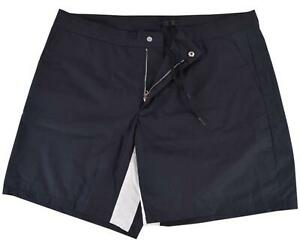 New Prada Men's UB294 Popeline Light Shorts 50 IT 40 US