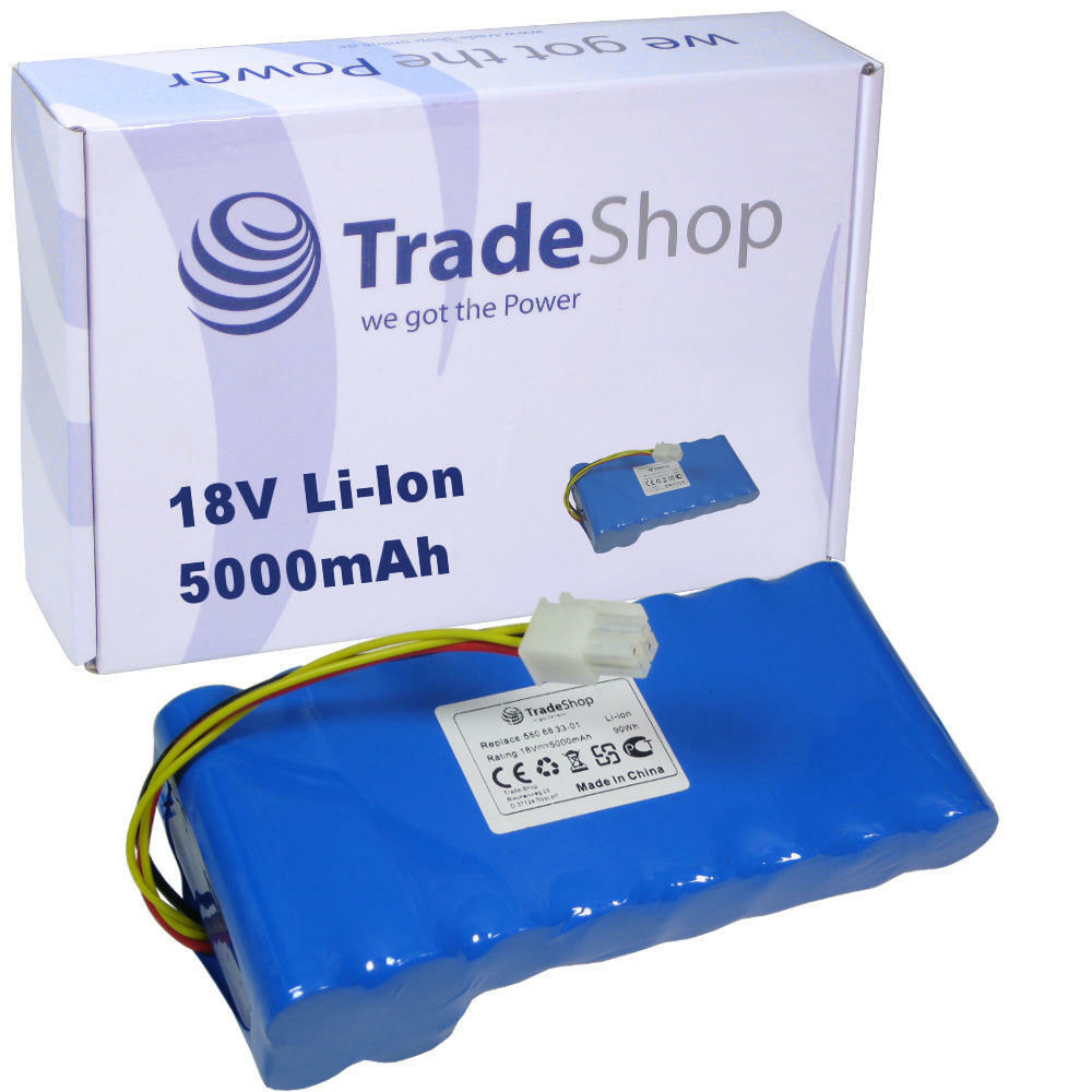 Trade-Shop AKKU 18V 5000mAh Li-Ion für Husqvarna Automower 420 430 450 450x