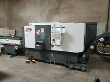 Haas St 30y Live Tool Lathe Mfg 2020 With Sub Spindle And 2020 Barfeeder