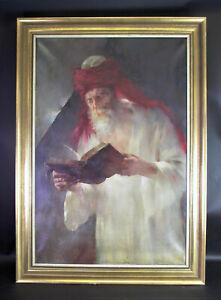 Konrad-FILIP-1874-1939-45-Muenchen-Olgemaelde-LESENDER-MUSLIM-103x74cm
