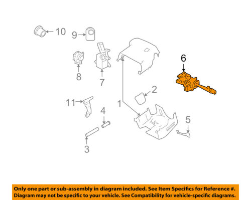Chevrolet GM OEM 06-11 Impala-Turn Signal Switch Lever Control Handle 15289426