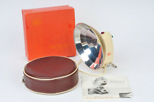 Zeiss-Ikon-Ikoblitz-1316-Flash-for-flash-bulbs-with-Case-Box-amp-Manual