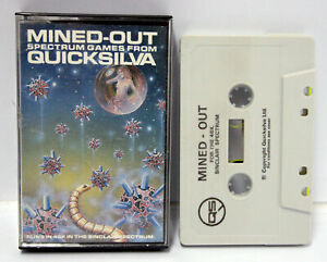 MINED-OUT-QUICKSILVA-SPECTRUM-ZX-SINCLAIR-DATASSETTE-USED-WORKING-100-FR1-65554