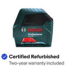 Bosch GLL50HC-RT Self-Leveling Cross-Line Laser Certified Refurbished