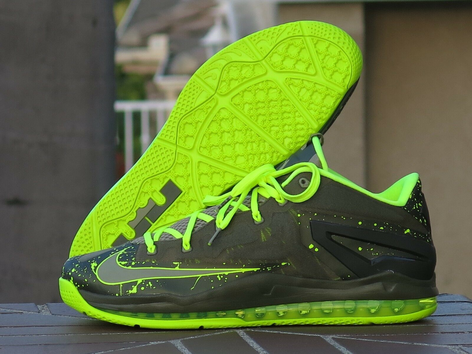 "Nike Lebron XI Low Men's Basketball shoes ""Dunkman""642849-200"