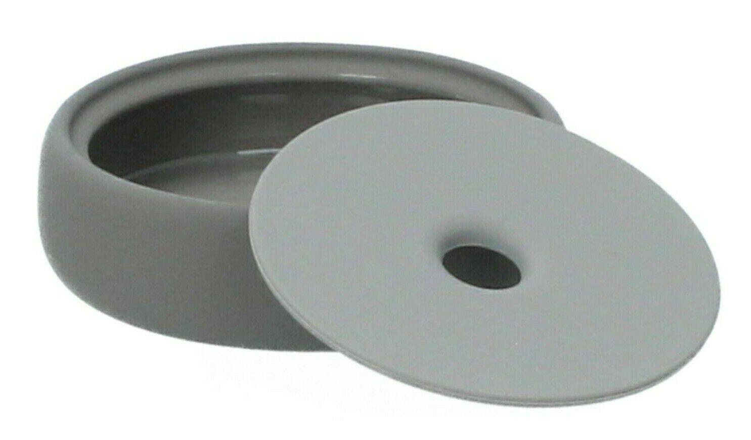 Blomus Magnet Sono Storage Box Soap Dish Ceramic and Silicone Soft Touch Finish