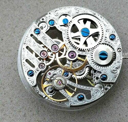Details about  /Clone Hollow 6497 Movement Sea gull-3600SK Second at 9
