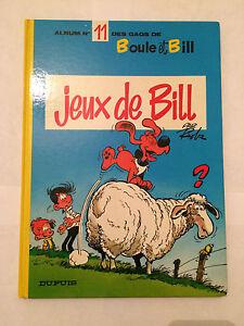 BOLA-PROYECTO-DE-LEY-Y-034-JUEGO-DE-BILL-034-TOMO-11-1984-DUPUIS-ROBA-BD