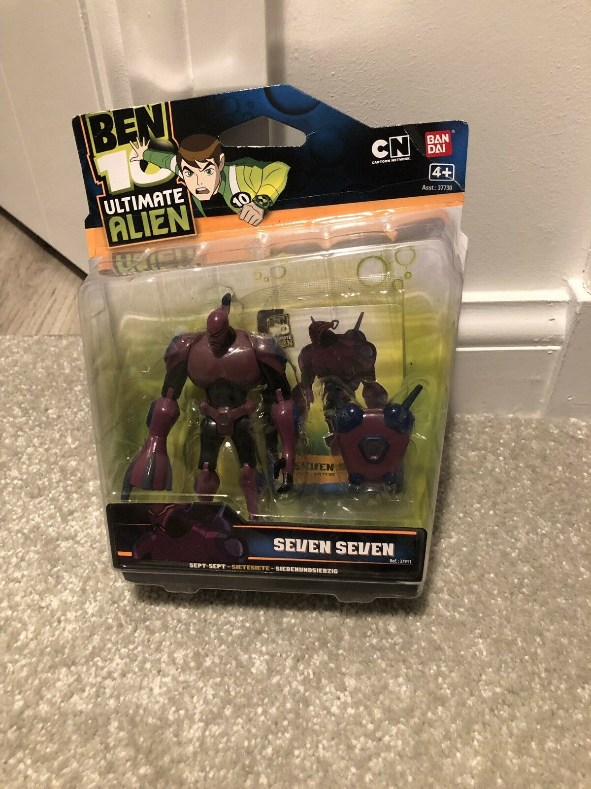 Ben 10 figur Sällsynt Sju Sju Ultimate Alien