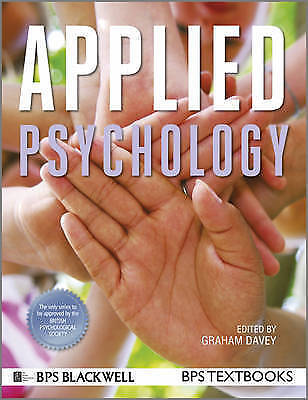 Applied Psychology Paperback Book The Cheap Fast Free Post
