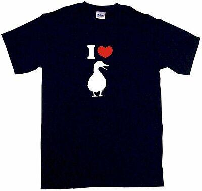 I Heart Love Duck Logo Mens Tee Shirt Pick Size /& Color Small 6XL