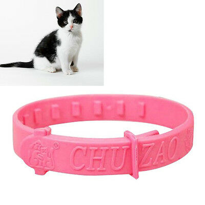 NEW Adjustable Pet Collar Cat Protection Neck Ring Flea Tick Mite Louse Remedy