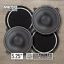 thumbnail 2 - CT Sounds Meso 5.25 Inch 2-Way Silk Dome Car Audio Coaxial Coax Speakers (Pair)