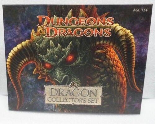 Dungeons & Dragons Miniatura  Dragon Collector's Set Nuevo 0653569617389