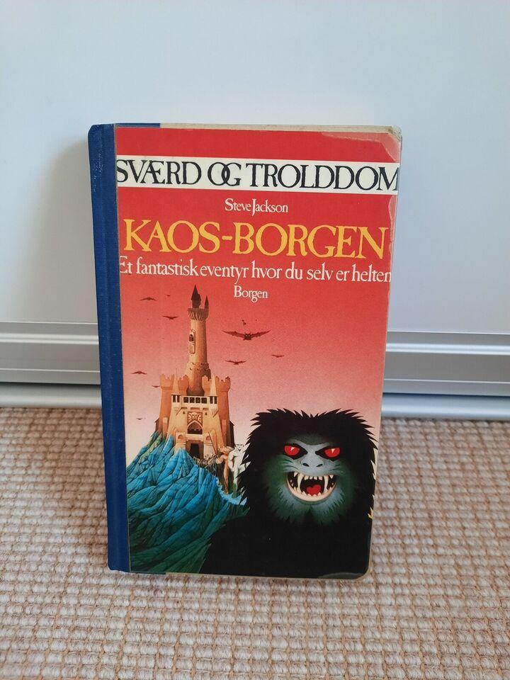 Sværd & Trolddom Kaos-Borgen, Steve Jackson, genre: