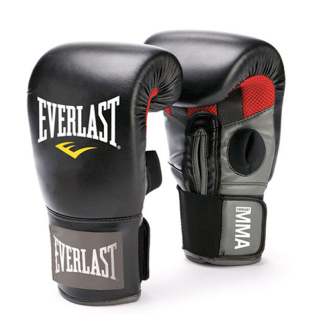 Everlast Original Boxing MMA Clinch Strike Gloves Martial Arts Cardio Fitness