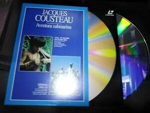 Jacques-Cousteau-Aventure-Underwater-Disque-Laser-Un-Monde-En-Extinction-Y-Bords
