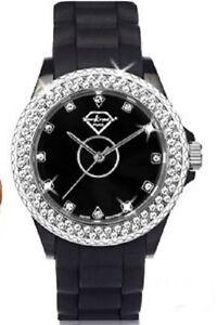Détails sur Montre Luxury Crystal Ornée de 90 Cristaux Swarovski® Elements
