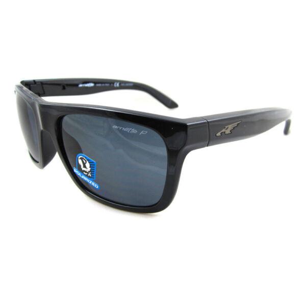 b6ad6273c3 Arnette Sunglasses 4176 Dropout 41 81 Black Polarized Grey