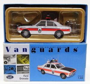 Vanguards-1-43-Scale-VA05203-Ford-Granada-Greater-Manchester-Police
