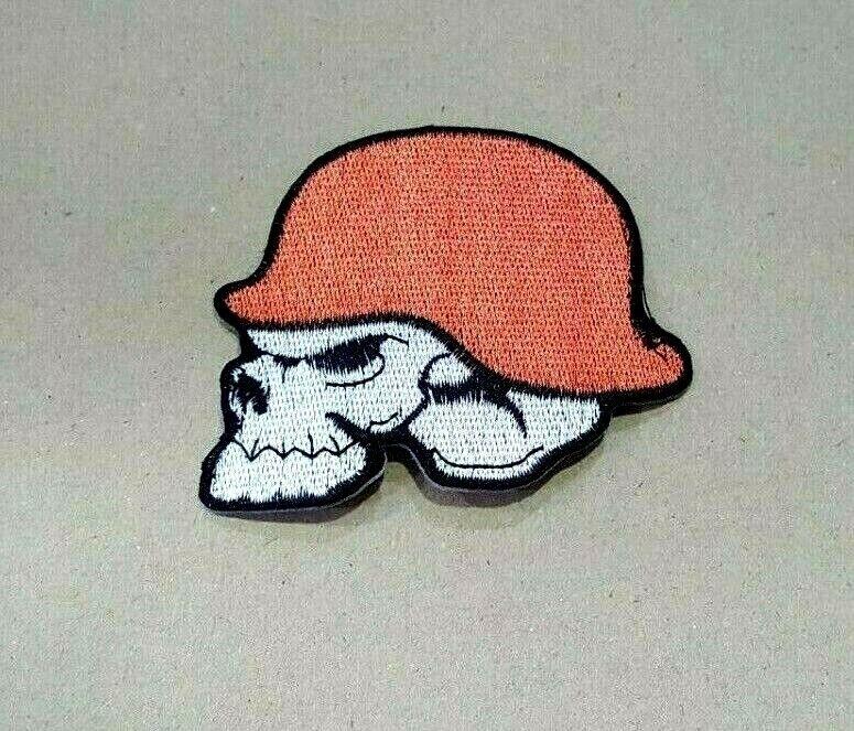 Metal Mulisha Motocross ROCK MUSIC SKULL POP Embroidered Iron Sew On Patch Logo