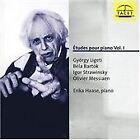 Études pour Piano, Vol. 1: Ligeti, Bartók, Strawinsky, Messiaen (1997)