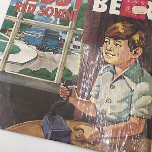 TEDDY BEAR RED SOVINE VINYL LP 1976 GUSTO RECORDS BOOTLEGGER KING, DADDY, STEREO